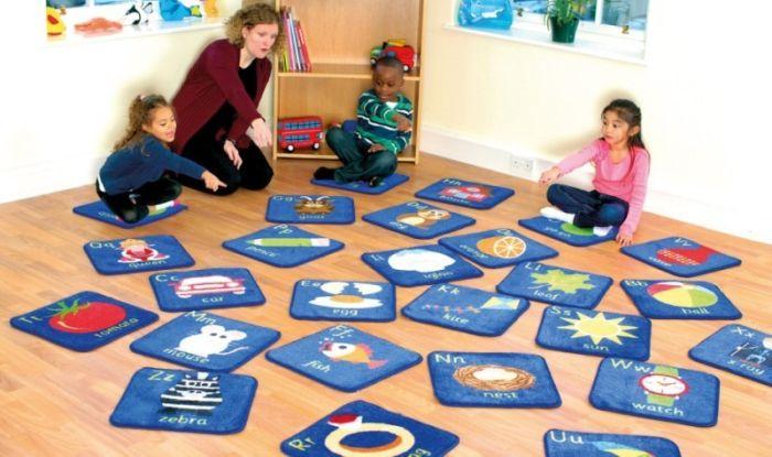 Set 26 covorase Mini Alfabet explicativ -interactiv si educational - Kit for Kids [1]