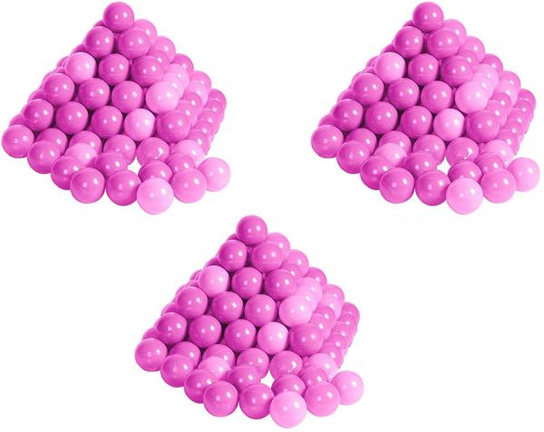 Set 300 bile colorate Soft Pink - Knorrtoys [0]