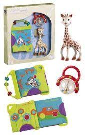 Set cadou jucarii activitati girafa Sophie 0