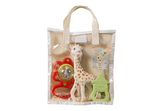 Set cadou saculet Vulli Girafa Sophie 0