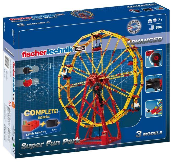 Set constructie ADVANCED Super Fun Park - 3 modele - Fischertechnik 1