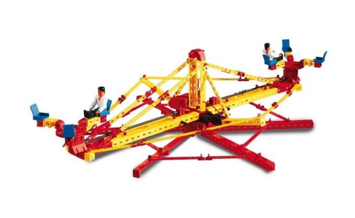 Set constructie ADVANCED Super Fun Park - 3 modele - Fischertechnik 6