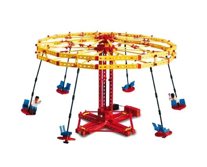Set constructie ADVANCED Super Fun Park - 3 modele - Fischertechnik 7