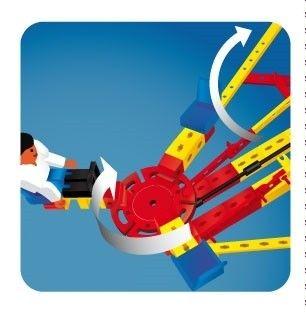 Set constructie ADVANCED Super Fun Park - 3 modele - Fischertechnik 12