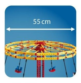 Set constructie ADVANCED Super Fun Park - 3 modele - Fischertechnik 13