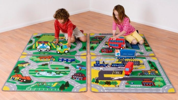 Set Covoare Town&Country Roads Kit for Kids [1]