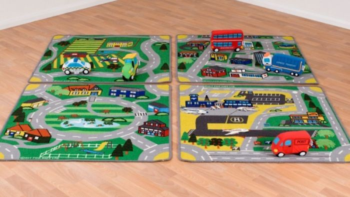 Set Covoare Town&Country Roads Kit for Kids [3]