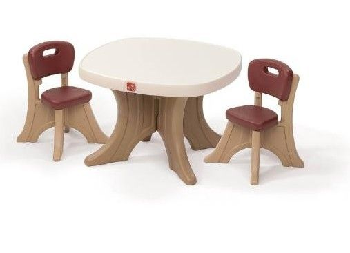 Set Masuta + 2 scaune pentru copii - Step2 0