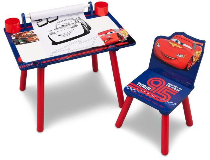 Set masuta pentru creatie si 1 scaunel Cars - Delta Children 0