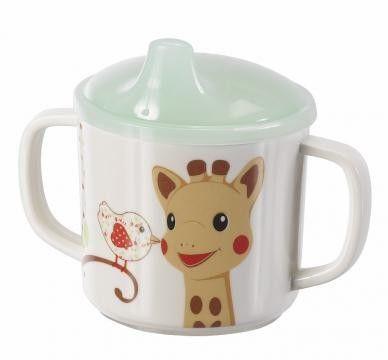 Set pentru masa melamina Girafa Sophie & Kiwi cutie cadou [1]