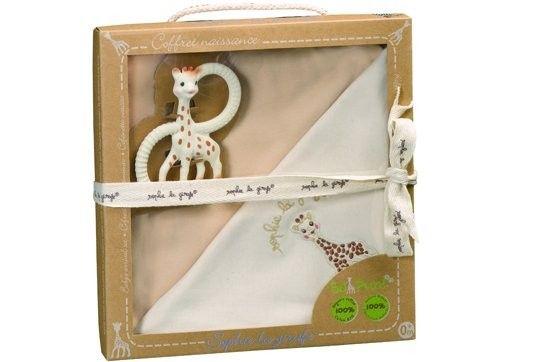 Set pentru nou-nascuti bio So pure - Girafa Sophie 0