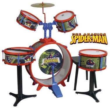 Set tobe Spiderman, baterie - Reig Musicales [0]