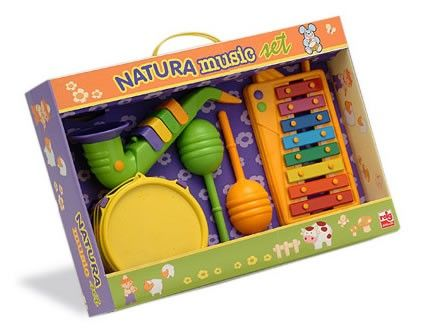 Set Xilofon, tamburina, saxofon si maracas - Reig Musicales 0