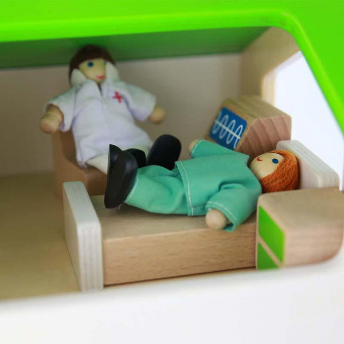 Spital de jucarie, din lemn, +3 ani, Masterkidz, pentru gradinite 3