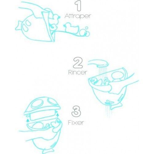 Suport pentru pastrarea jucariilor si a samponului Bubble Fish 2