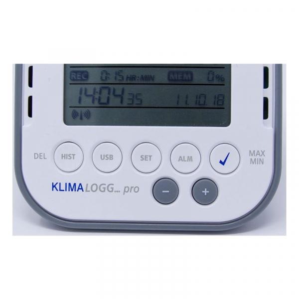 Termo-higrometru profesional cu functie de inregistrare a datelor tip Data Logger, KLIMALOGG PRO TFA 30.3039.IT [2]