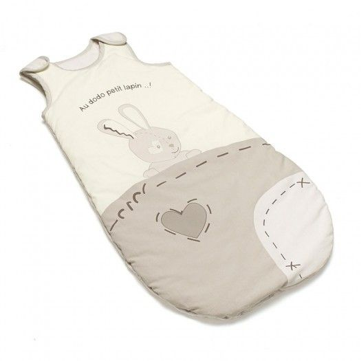 Thermobaby Sac de dormit pt iarna Good night Bunny 0-6 luni 0