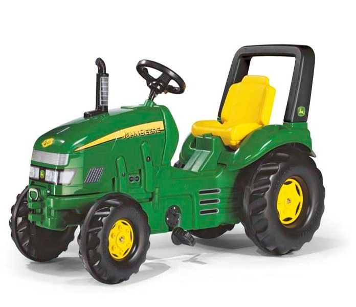 Tractor cu pedale copii Rolly Toys 035632 Verde [0]