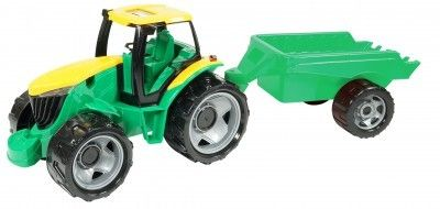 Tractor cu remorca Gigant Lena 95cm 0