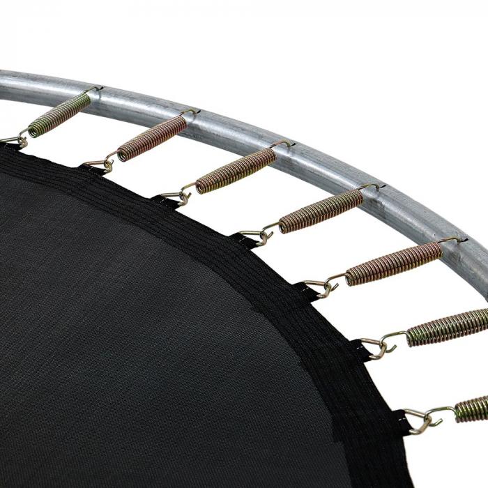 Trambulina KidsCare, cu scara si plasa de protectie, 244 cm 4