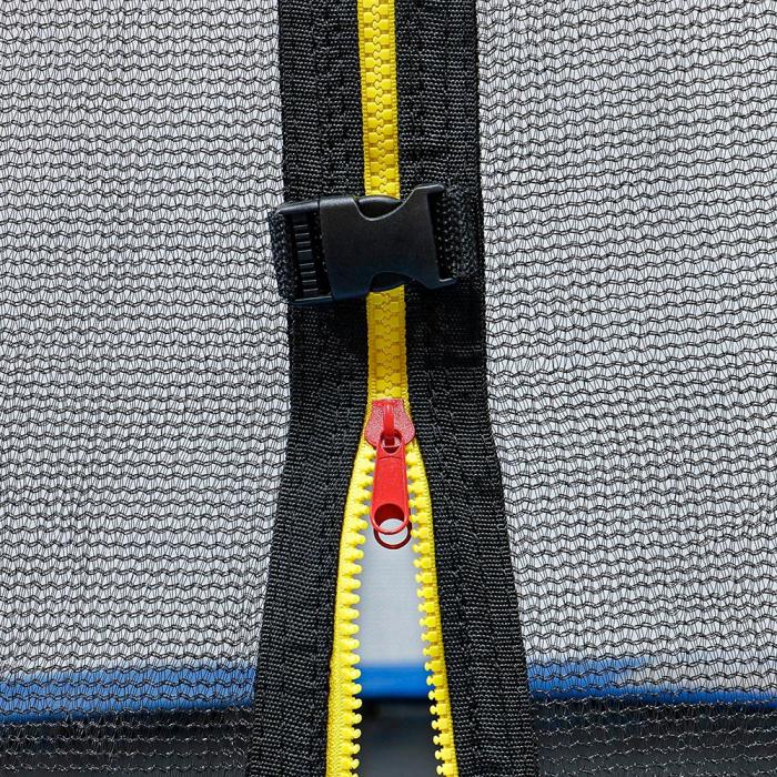 Trambulina KidsCare, cu scara si plasa de protectie, 244 cm 3