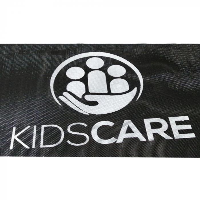 Trambulina KidsCare, cu scara si plasa de protectie, 244 cm 1