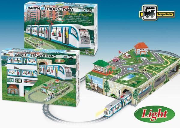 Tramvai Metropolitan CityTran - Pequetren 0