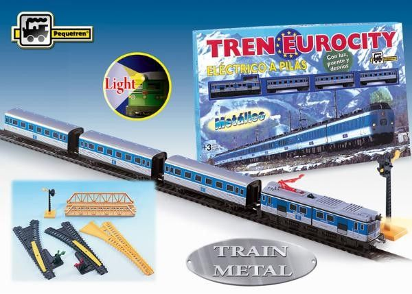 Trenulet electric calatori EUROCITY - Pequetren [0]