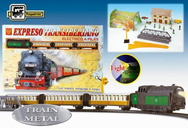 Trenulet electric calatori Expresul Transiberian - Pequetren 0