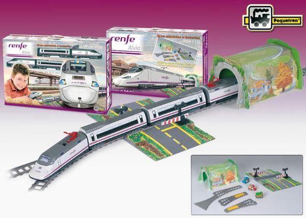 Trenulet electric calatori RENFE Alvia S-130 - Pequetren 0
