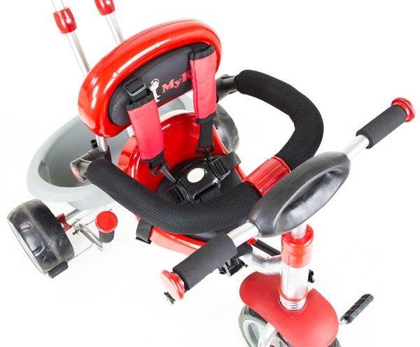 Tricicleta copii MyKids Rider A908-1 Rosu 4