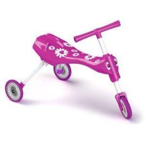 Tricicleta fara pedale Scuttlebug Fleur - Mookie 0