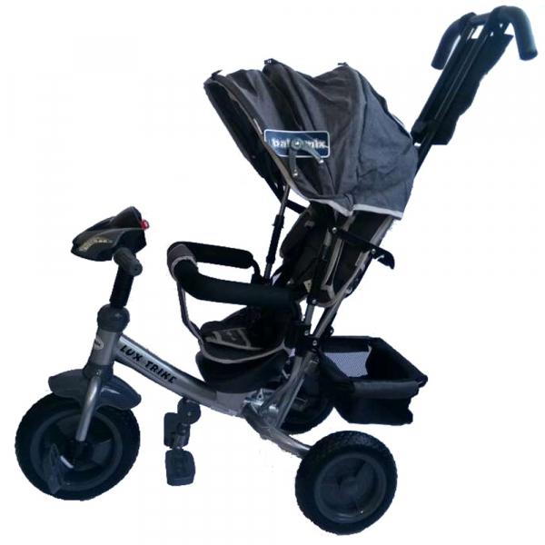 Tricicleta multifunctionala cu sunete si lumini Lux Trike - Baby Mix [0]