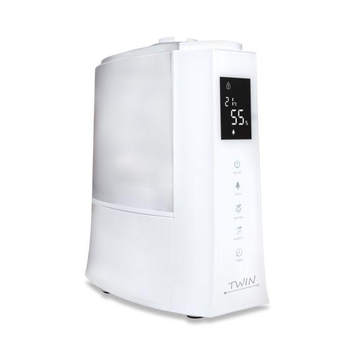 Umidificator cu ionizare si difuzor arome TWIN alb, Airbi BI3222 [2]