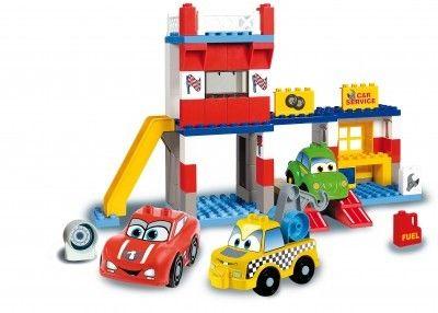 Unico Cars for Kidz garaj cu masini 108 piese 0