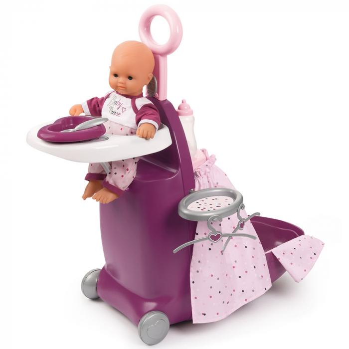 Valiza multifunctionala pentru papusi Smoby Baby Nurse 3 in 1 [2]