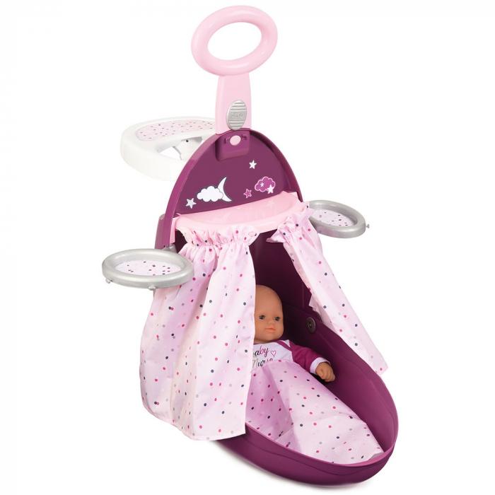 Valiza multifunctionala pentru papusi Smoby Baby Nurse 3 in 1 [3]