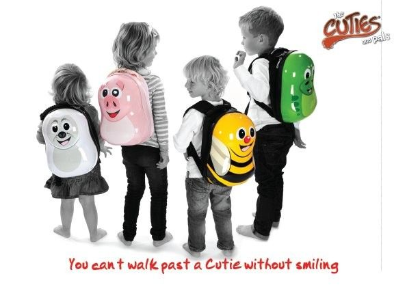 Valiza tip trolley si ghiozdan Cazbi the Bee - Cuties and Pals 4