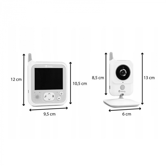 Video monitor Babyline 7.1 - Lionelo [1]