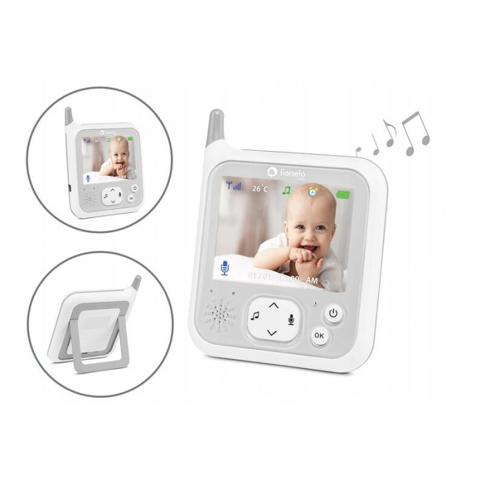 Video monitor Babyline 7.1 - Lionelo [8]