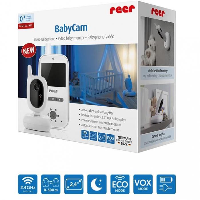 Video monitor digital pentru bebelusi Reer BabyCam 80420 3