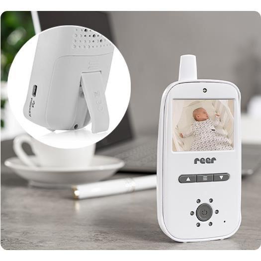 Video monitor digital pentru bebelusi Reer BabyCam 80420 6