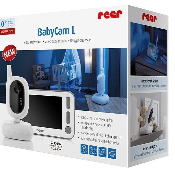 Video monitor digital pentru bebelusi Reer BabyCam L 80430 1