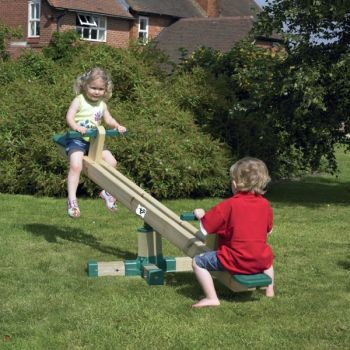 Balansoar rotativ din lemn Forest Seesaw - TP Toys0