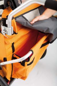 Bellelli B-Travel remorca de bicicleta pana la 32kg - Red [3]