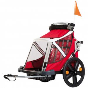 Bellelli B-Travel remorca de bicicleta pana la 32kg - Red [0]