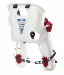 Bellelli Freccia B-Fix scaun bicicleta pentru copii pana la 15kg - Silver [3]