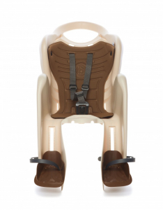 Bellelli Mr Fox Relax B-Fix scaun bicicleta pentru copii pana la 22kg - Silver [1]