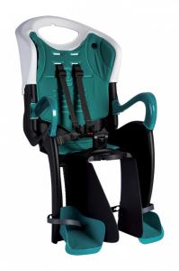 Bellelli Tiger Clamp scaun bicicleta pentru copii pana la 22kg - White Turquoise [0]