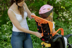 Bellelli Tiger Standard B-Fix scaun bicicleta pentru copii pana la 22kg - Yellow Hi-Viz [1]